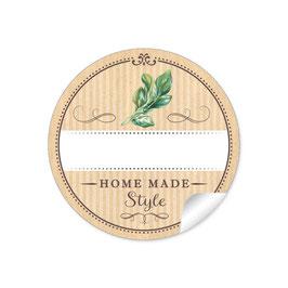 """Home Made Style""- Basilikum - natur"