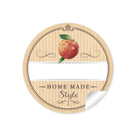 """Home Made Style""- Apfel - natur"
