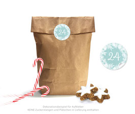 Adventskalender SET: KRANZ - mint