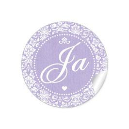 """""""Ja"""" - Shabby Chic Style - lila"""