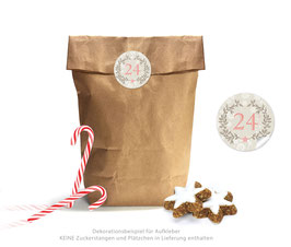 Adventskalender SET: ORNAMENTE - beige