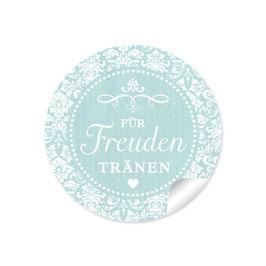 """""""Für Freudentränen"""" - Vintage Ornamente - mint"""