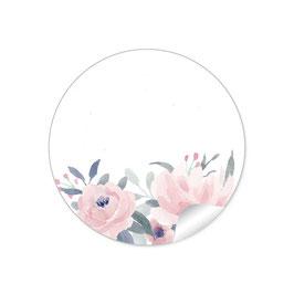 Blüten rosa pastell - mit Freitextfeld
