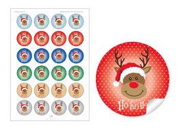 """""""Ho Ho Ho"""" - Rudolph - gemischt"""