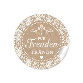 """""""Für Freudentränen"""" - Vintage Ornamente - Natur /Kraftpapier-Look"""
