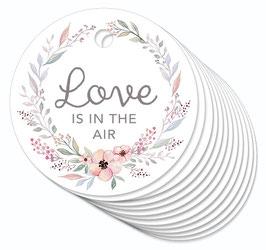 12 ANHÄNGER • Love is in the Air • Pastell Blüten Kranz