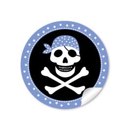 Pirat - schwarz blau