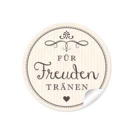 """""""Für Freudentränen"""" - Creme"""