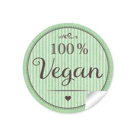 """""""100% Vegan"""" - grün"""
