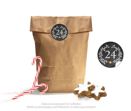 Adventskalender SET: ORNAMENTE - schwarz