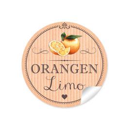 """Orangen Limo""- Orange"