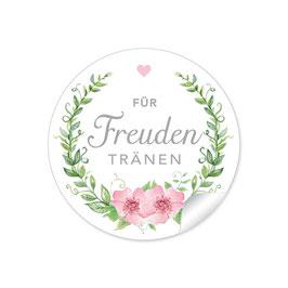 """Für Freudentränen"" - Rosenkranz - rosa / grün"