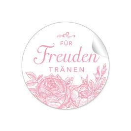 """Für Freudentränen"" - Rosen - rosa"