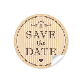 """Save the Date"" - Vintage Ornamente - nature"