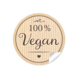 """""""100% Vegan"""" - natur"""