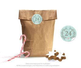 Adventskalender SET: ORNAMENTE - mint