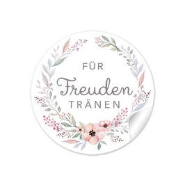 """Für Freudentränen"" - Blütenkranz - Pastell"