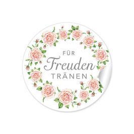 """""""Für Freudentränen"""" - Rosenkranz - weiß / apricot / rosa"""