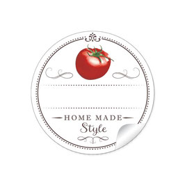 """""""Home Made Style""""- Tomate - weiß"""