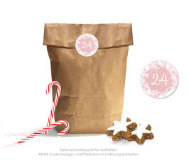 Adventskalender SET: KRANZ - rosa