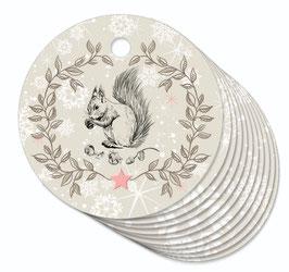 12 ANHÄNGER • Eichhörnchen beige