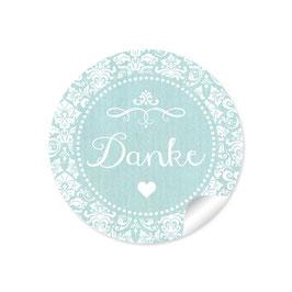 """Danke"" - Vintage Ornamente -mint"