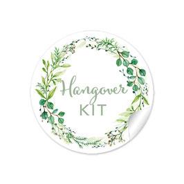 Hangover Kit - Zweige Kranz grün
