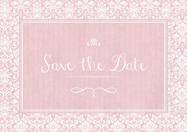 """Save the Date"" - Ornamente - Bunt"