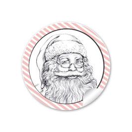 Weihnachtsmann  - rosa