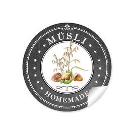 """Müsli - Homemade""- schwarz"