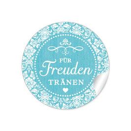 """""""Für Freudentränen"""" - Vintage Ornamente - türkis"""