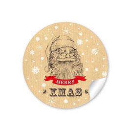 """""""Merry XMAS"""" - Weihnachtsmann  - Natur"""
