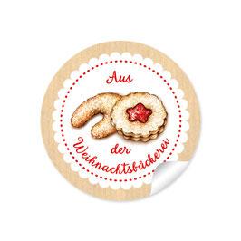 """""""Aus der Weihnachtsbäckerei""""- Gebäck - natur"""