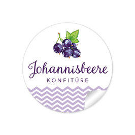 """Johannisbeere Konfitüre""- lila"
