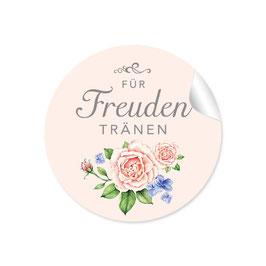 """""""Für Freudentränen"""" - Rosen - creme / rosa"""