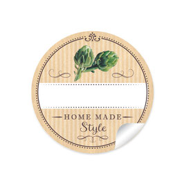 """""""Home Made Style""""- Artischocken - natur"""