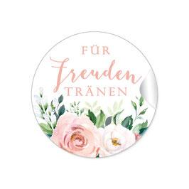 Für Freudentränen - Rosen Blüten Apricot rosa weiß grün