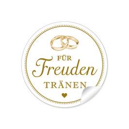 """""""Für Freudentränen"""" - Ringe - goldgelb"""