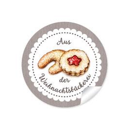 """""""Aus der Weihnachtsbäckerei""""- Gebäck - sand"""