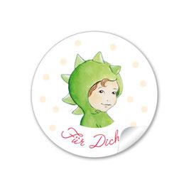 """""""Für Dich"""" - Drache -  grün"""