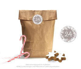 Adventskalender SET: KRANZ - sand