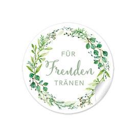 """""""Für Freudentränen"""" - Zweige - grün"""