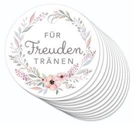 12 ANHÄNGER • Freuden Tränen • Pastell Blüten Kranz