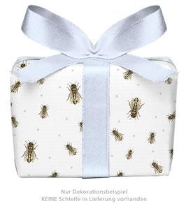 3 Bögen Geschenkpapier groß - Biene - gedruckt auf PEFC™ zertifiziertem Papier