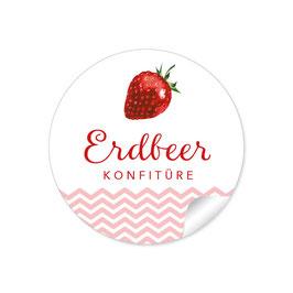 """""""Erdbeer Konfitüre""""- rot"""