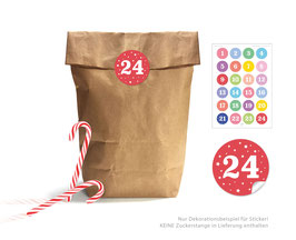 Adventskalender SET: BUNT