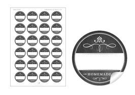 """""""Homemade""""- schwarz - mit Freitextfeld BREIT"""