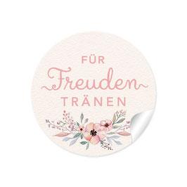 """""""Für Freudentränen"""" - Blüten - Pastell rosa creme"""