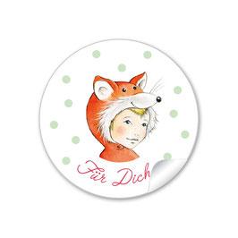 """""""Für Dich"""" - Fuchs -  orange"""