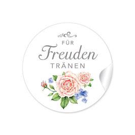 """""""Für Freudentränen"""" - Rosen - weiß  / rosa"""
